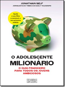o adolescente milionário - livro