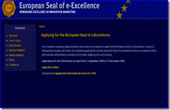 European Seal of e-Excellence