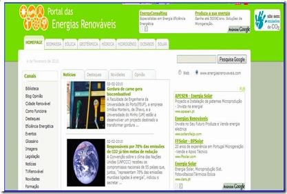 Portal das enregias Renováveis