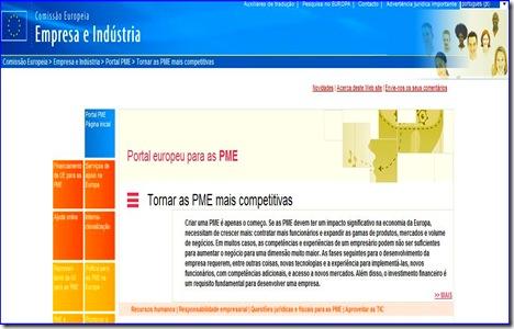 Portal europeu para as PME