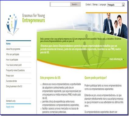 Portal Erasmus pa Jovens Empreendedores